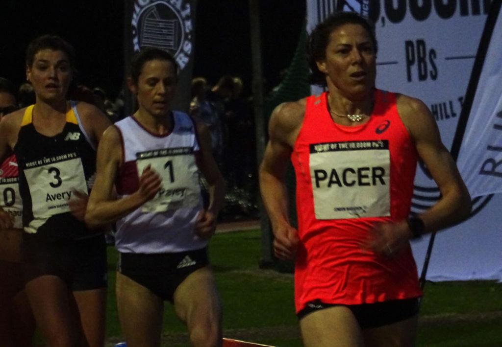 Helen Clitheroe paces Jo Pavey