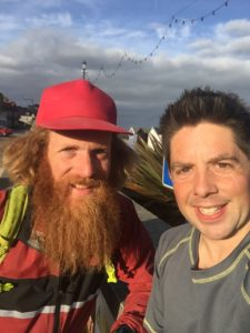 Sean Conway and Tom Wake