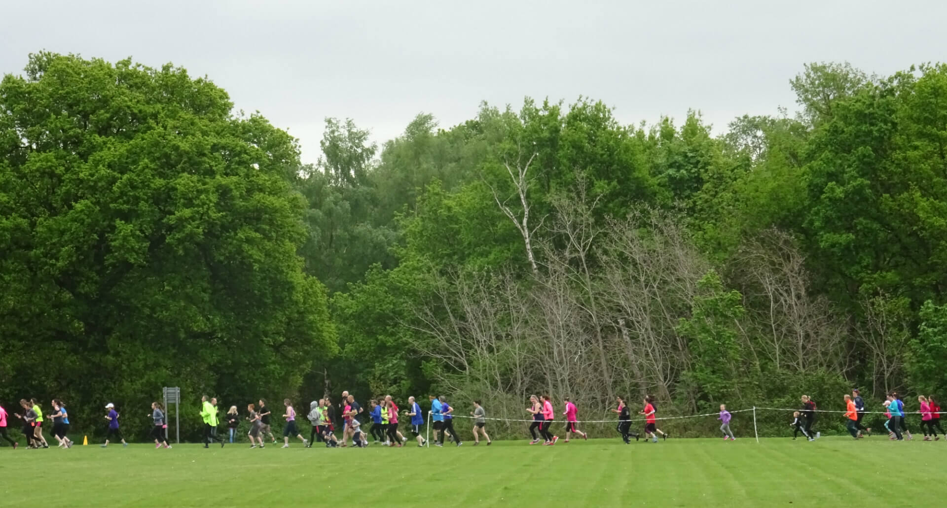 Kesgrave parkrun runners