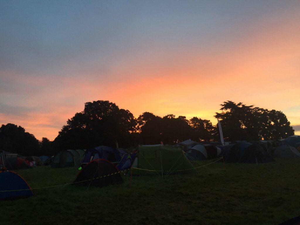 Sunrise over the Thunder Run
