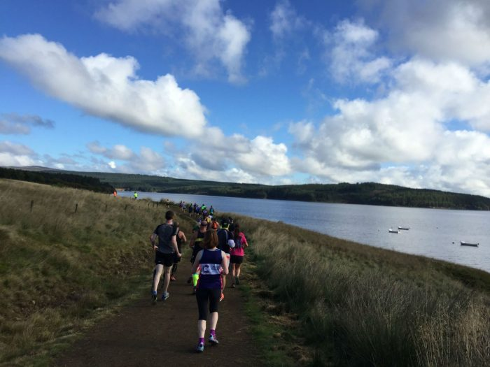 Runners take on Kielder