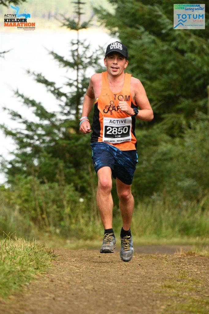 Tom Wake Running Kielder