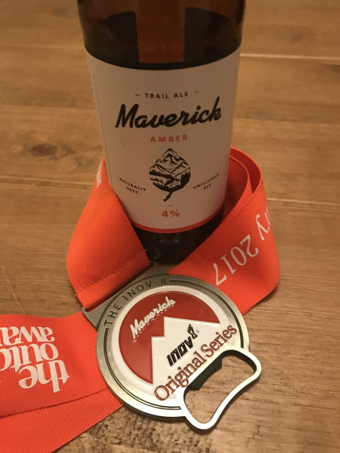 Maverick Beer and Medal