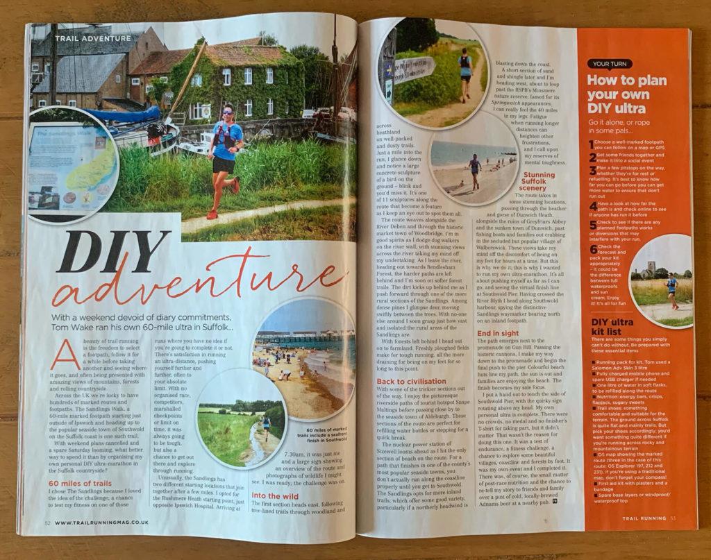 Sanding Walk Article - Trail Running Magazine