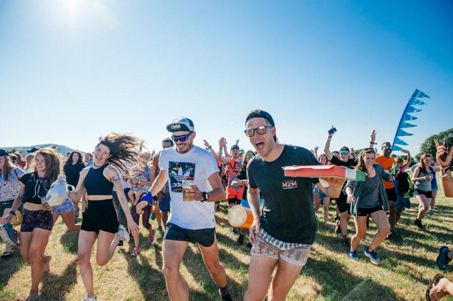 Love Trails Festival Runners