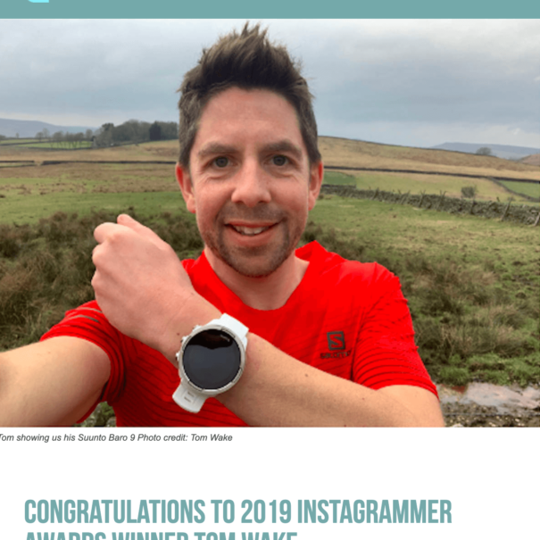 RunUltra Instagrammer of the Year