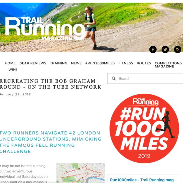 Trail Running Magazine Article